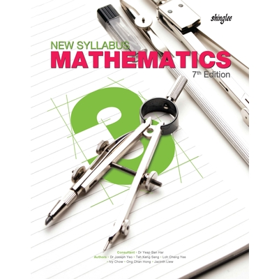 New Syllabus Mathematics 7th Edition Secondary 3 Textbook