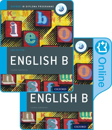 IB English B Course Book Pack  (Print & Enhanced Online)